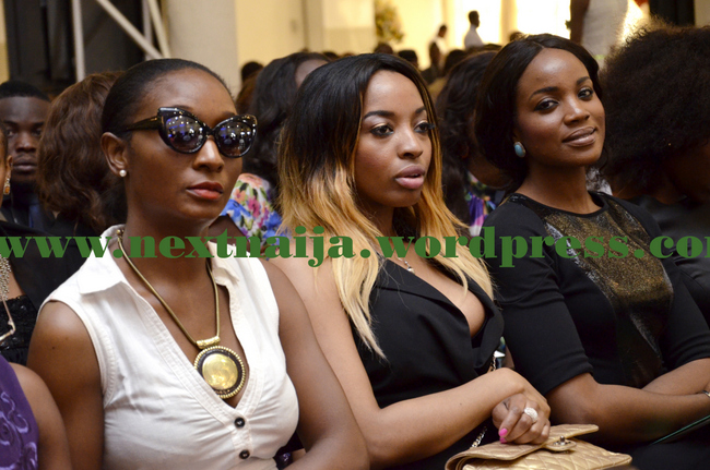 Seyi Shay with other Participants