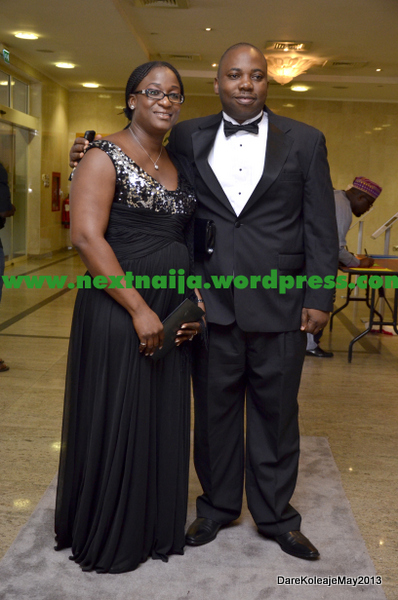 Ahmed Abbey (Class of 1986)with Wife