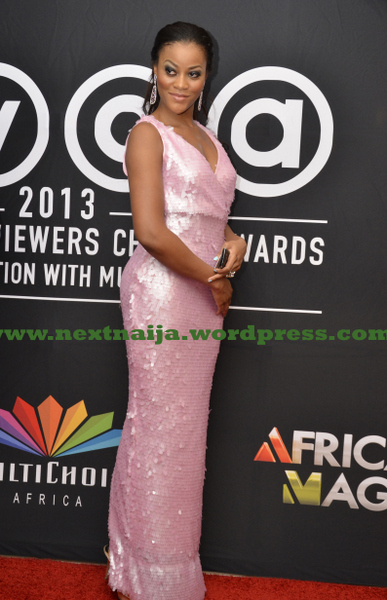 Damilola at AMVCAs2013
