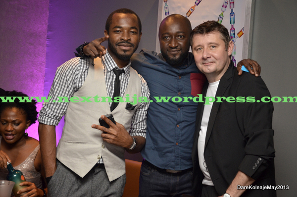 O.C Ukeje with other Guests
