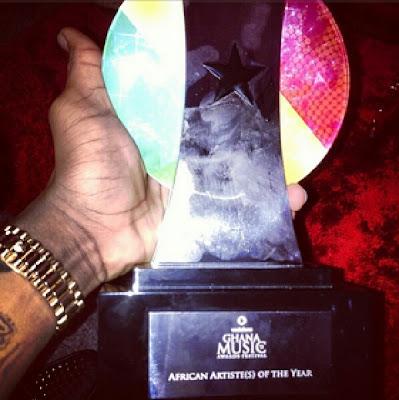 Starboy, Wizkid's Award