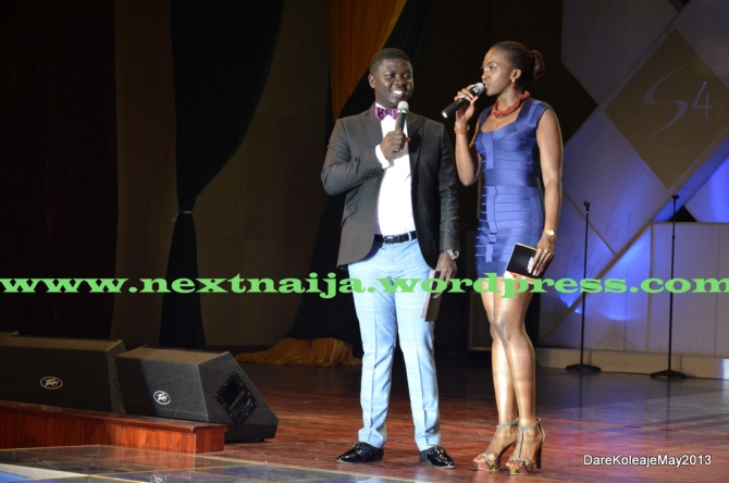 Seyi Law with Kate Henshaw