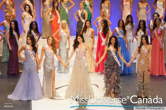 MISS-UNIVERSE-CANADA CONTESTANTS