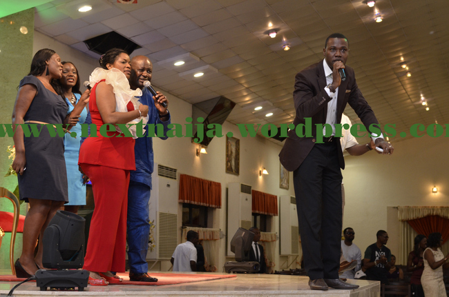 "Tosin Martins performs at ""Coson in Church"""