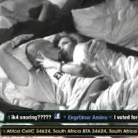 """Photos: First Couple Emerges at Big Brother, The Chase""""- Bolt & Betty share passionate kiss in bed"""