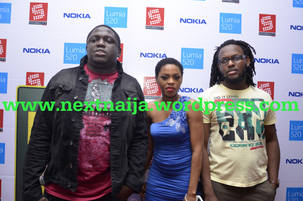 Illbliss, Chidinma & Clarence Peters