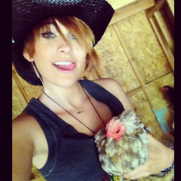 Paris Jackson posts a selfie on Twitter May 26, 2013.