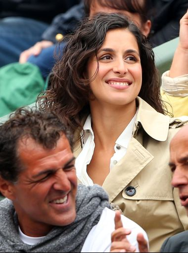Xisca Perello, the girlfriend of Rafael Nadal, flashes a big smile