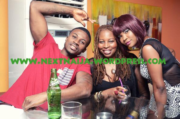Hakeem Roze, Ngozi Omambala & Justina