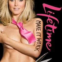 See Photos - Racy Heidi Klum's 'Project Runway' Ad that was Banned From L.A. because it features Naked Women & Men.