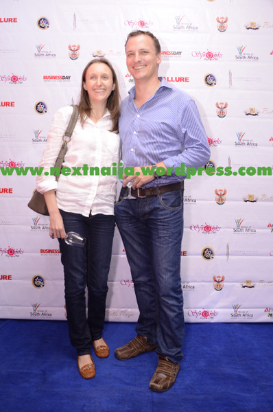Victoria Mendel with John Zyl