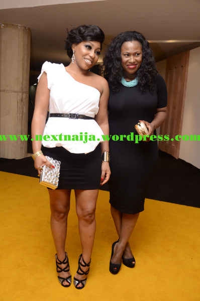 Rita Dominic with Uche Jumbo