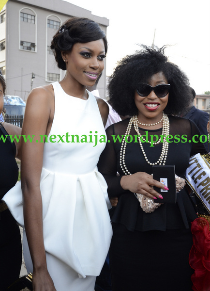 Rita Dominic with Yvonne Nelson