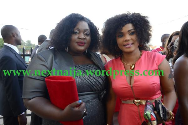 Iyabo Ojo with Eniola Badmus
