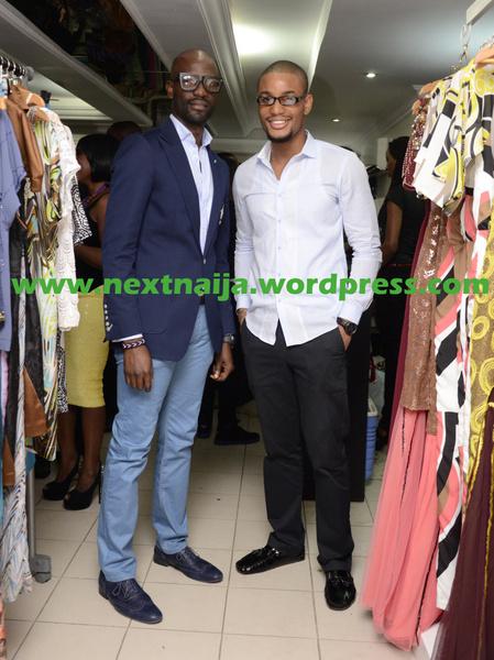 Mai Atafo with Alex Ekubo