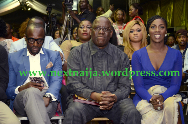 Capital FEMI, Kenny Ogungbe with Tiwa Savage