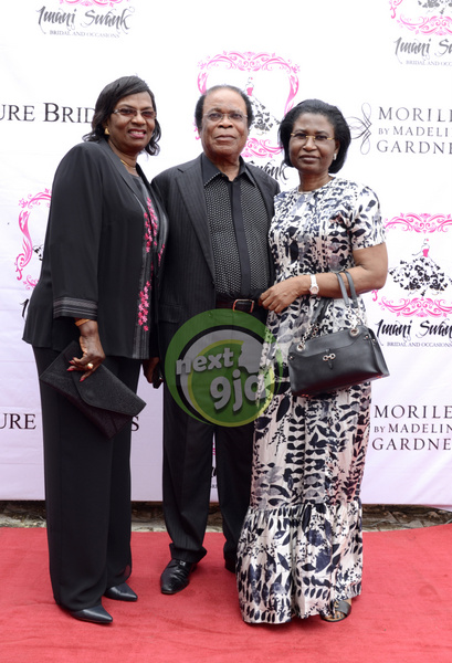 Mr & Mrs Okoro with Alero Azazi