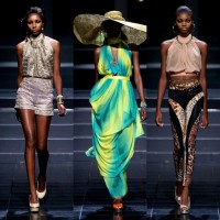 Photo Gallery: Check out Milq & Honey Beautiful African Collection at Mercedes-Benz Fashion Week Cape Town 2013: