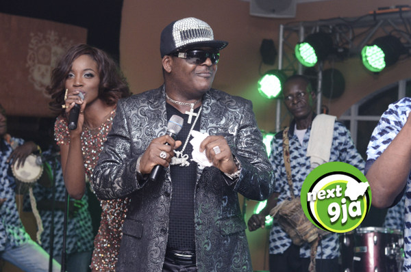 Sir Shina Peters with Seyi Shay
