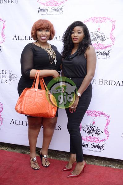 Latasha Ngwube with Nike Balogun