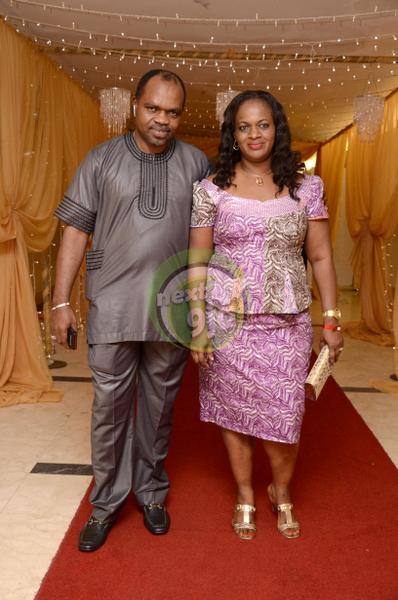Niyi Adewunmi & Wife